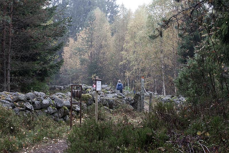 Vy över start Etapp 9 Bergslagsleden